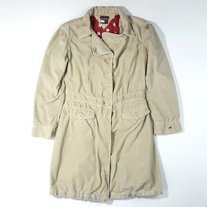 Vintage Tommy Hilfiger Women's Trench Coat
